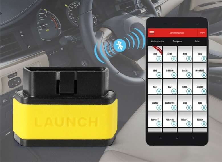 OBD2 адаптер Launch Easydiag 2.0