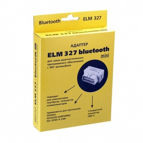 ELM327 Bluetooth v.2.1