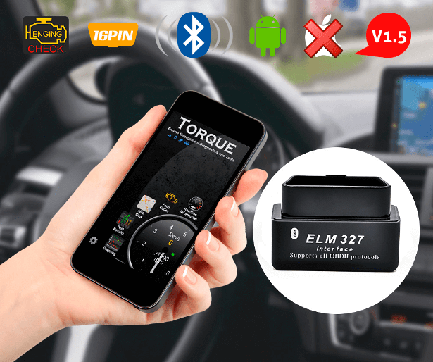 ELM327 ver 1.5 mini Bluetooth