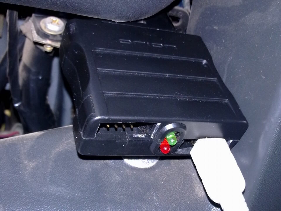 Подключение сканера к разъёму